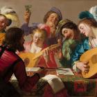 Le Concert, Gerard van Honthorst, 1623. National Gallery of Art
